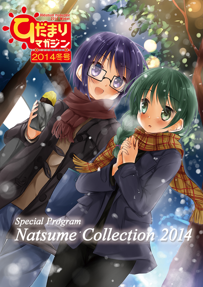 ひだまりマガジン2014冬号表紙